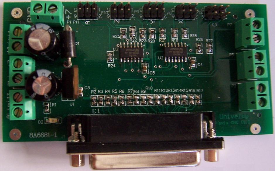 One 5-AXIS Interface Board for CNC Driver Board