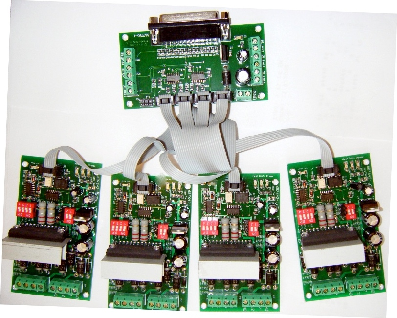 4 AXIS (TB6560) CNC STEP MOTOR DRIVER