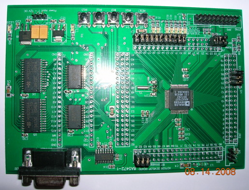 Analog Device's ADuC7207 ARM7 development board
