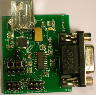 USB/ RS232 Interface Board for 13.56Mhz RFID Reader/Writer
